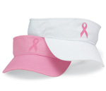 Breast Cancer Awareness Visor