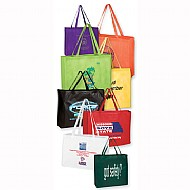tote bags, nylon, woven, non-woven, canvas, tote, promotional, logo, advertising, personalized, engr