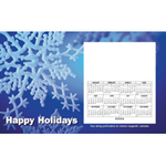 Snowflakes - Holiday Magnetic Calendar Perfcard