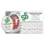 Picture Frame Calendar, Oval Cutout - 4 Color Process