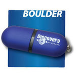 Boulder Smooth Ruberized Feel Memory Stick / USB Drive