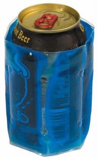 beverage container, beverage cooler, can cooler, can insulator, gel can...