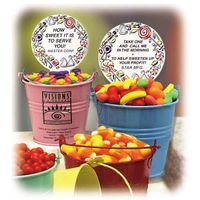 candy container, candy, chocolate, runts, jolly rancher, fruit, promotional, logo, advertising, pers
