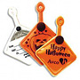 Halloween, ghost, holiday, trick, treat, trick or treat, candy, promotional, logo, advertising, pers