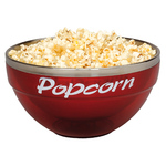 2 quart Acrylic / Stainless Steel Popcorn Bowl