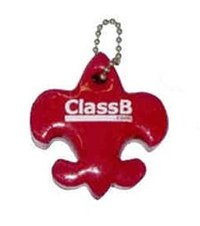 Fleur-de-Lis, scout symbol, fish, marina, floating key ch in, floating...