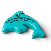 dolphin, ocean, fish, jumping dolphin, keychain, key tag, key chain,...