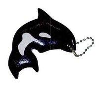 orca, killer whale, fish, marina, floating key chain, floating keychain,...