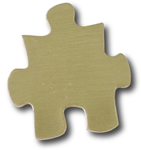 Puzzle Piece Lapel Pin