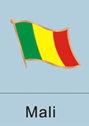 malian, malian flag, patriotism, patriotic, lapel pin, flag pin, flag lapel...