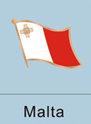maltese, maltese flag, patriotism, patriotic, lapel pin, flag pin, flag lapel...