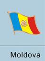Moldova Flag Pin