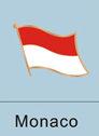 Monaco Flag Pin