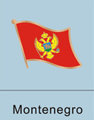 Montenegro Flag Pin