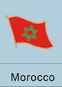 moroccan flag, moroccan flag pin, morroco flag patriotism, patriotic, lapel...