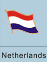 Netherlands flag, dutch flag, dutch flag pin, patriotism, patriotic, lapel...