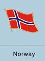 Norway Flag Pin
