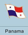 Panama Flag Pin