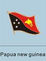 Papua New Guinea Flag Pin