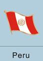 Peru Flag Pin