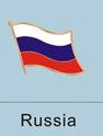 Russia Flag Pin