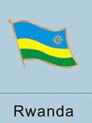 Rwanda Flag Pin