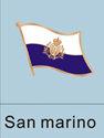 San Marino Flag Pin