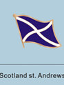 Scotland St. Andrews Flag Pin