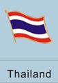 Thai, Thai flag, patriotism, patriotic, lapel pin, flag pin, flag lapel...