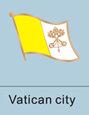 vatican city flag, vatican city flag pin, patriotism, patriotic, lapel pin,...