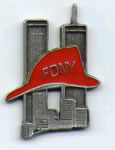 FDNY Lost But Not Forgotten Lapel Pin