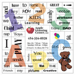 Kids 49 Motivation Words Message Magnet