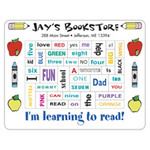 Learning to Read Picture Frame with 40 Punch Out Words Magnet