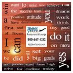 Sunset 49 Motivation Words Message Magnet