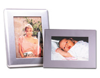 photo,picture,frame,metal,brushed,5x7,silver
