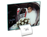 2 Piece 7x5 Glass Photo Frame