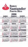 calendar card, Los calendarios,