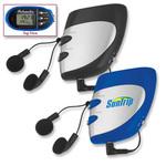 Stopwatch, Pedometer, FM scan Radio multi-functional combo