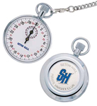 The Coach Classic Metal Stopwatch w/ Chain & Dial Face