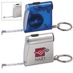 Mini Tape Measure Key chain / LED Light Keychain