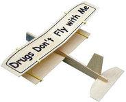 Balsa biplane (2 wing airplane) Glider