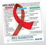 HIV/AIDS Health and Safety Magnet
