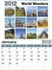 calendar, wall calendar, tacky calendar, sticky calendar, post it calendar,...