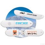 Snowboard / Snow Board USB Drive / Memory stick