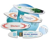 Surfin' / Surf Board / Surfboard USB Drive / Memory stick
