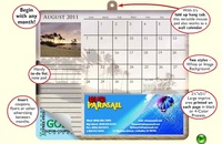 Calendar/Note Paper Mouse Pads