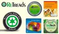 Retreads Mouse Pads - from Recycled Tires
