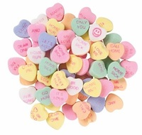 conversation hearts, candy hearts, custom message hearts, custom message...
