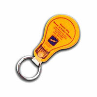 light bulb,lightbulb, key ring, key chain, key tag, keytag, keychain, keyring