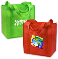 eco friendly, eco friendly products, go green, non woven polypropylene, bags, green grocery bag, pro